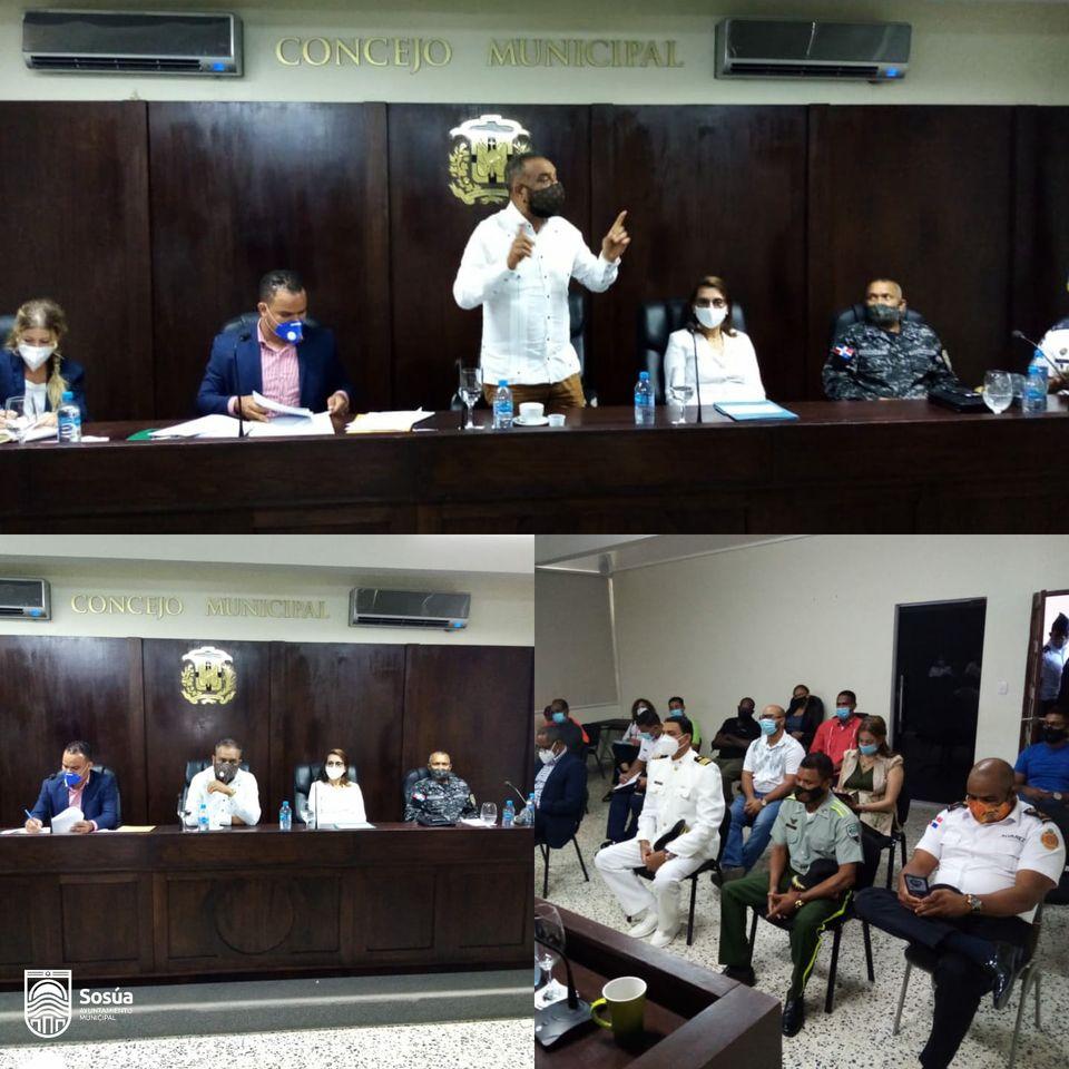 La Gobernación Ministerio de Interior y Policía y Alcaldía realizaron el segundo encuentro de Seguridad Ciudadana y Género en Sosúa.
