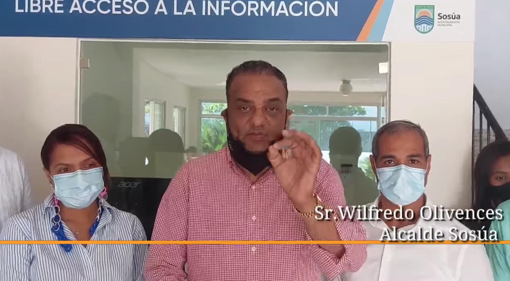 Wilfredo Olivences inaugura la Oficina de Libre Acceso a la Información
